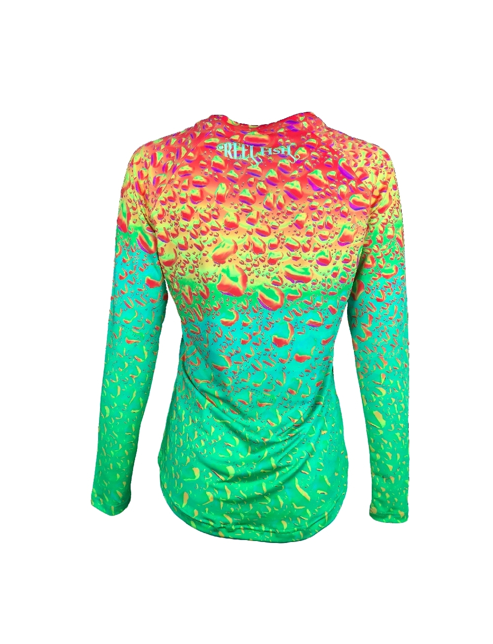 Reel fish outfitters ladies sun protection performance for Custom sun protection shirts