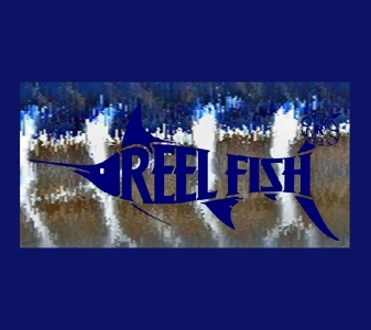 REEL FISH WAHOO™ Pattern License Plate in Sun Masks, Fishing Gear and Accessories