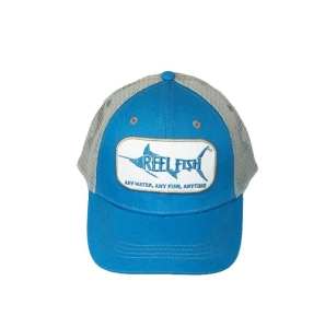 REEL FISH™ Marlin Patch Trucker Hat in Men's and Women's Headwear, Caps and Hats