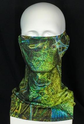REEL FISH ELECTRIC BASS™ UPF 50+ SUN MASK in Sun Masks