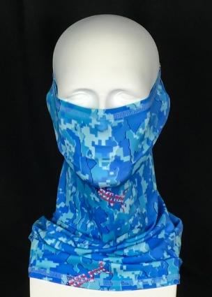REEL FISH PATRIOT™ UPF 50+ SUN MASK in Sun Masks, Fishing Gear and Accessories