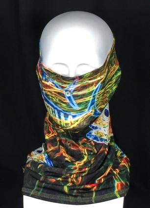 REEL FISH ELECTRIC TUNA™ UPF 50+ SUN MASK in Sun Masks