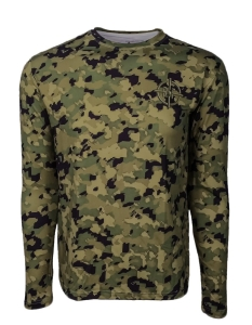 Men's RFO WOODLAND™ Camo UV Performance Shirt in Men's Clothing and Apparel