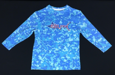 REEL FISH YOUNG PATRIOT™ performance shirt in Youth and Kids Apparel and Clothing