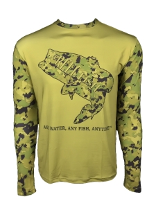 Men's RFO SPORTSMAN WOODLAND BASS™ UV performance shirt in Men's Clothing and Apparel