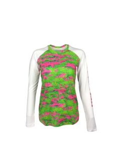 Ladies REEL FISH PINK CORAL™ UV Performance Shirt in Women's Clothing and Apparel