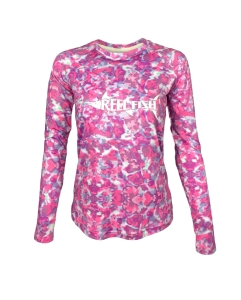 Ladies REEL FISH Pink Passion™ UV Performance Shirt in Women's Clothing and Apparel