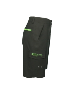Men's REEL FISH SUNLITE™ UV Performance Hybrid Shorts Black in Men's Clothing and Apparel