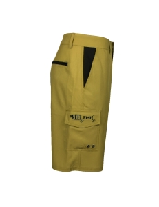 Men's REEL FISH SUNLITE™ UV Performance Hybrid Shorts Khaki in Men's Clothing and Apparel
