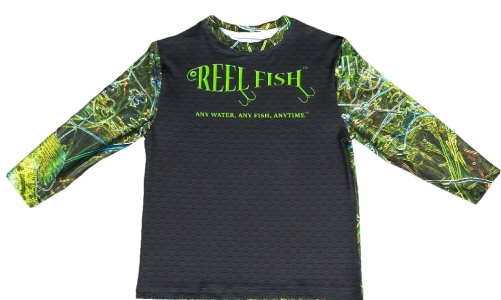 REEL FISH ELECTRIC BASS™ Youth Performance Shirt in Youth and Kids Apparel and Clothing