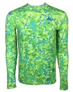 Men's REEL FISH MAHI™ Camo UV Performance Shirt in Men's Clothing and Apparel