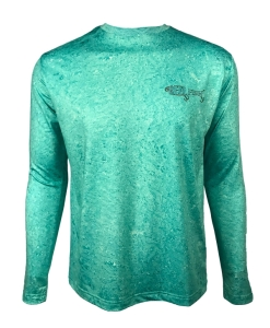 Men's REEL FISH SEA-DUCED™ Sun Protection Performance Fishing Shirt in Men's Clothing and Apparel