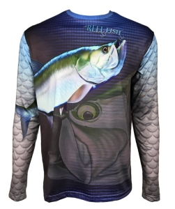 Men's REEL FISH SILVER KING™ Sun Protection Performance Fishing Shirt in Men's Clothing and Apparel