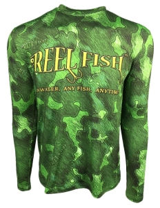 Men's REEL FISH BOGGY BAYOU™  UV Performance shirt in Men's Clothing and Apparel