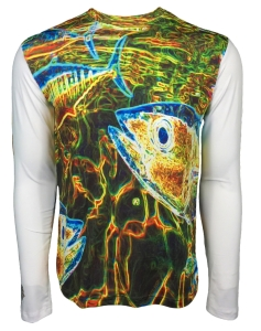 Men's REEL FISH Electric Tuna™  Sun Protection Performance Shirt in Men's Clothing and Apparel