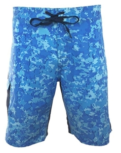 Men's REEL FISH PATRIOT™ UV Performance Board Shorts in Men's Clothing and Apparel